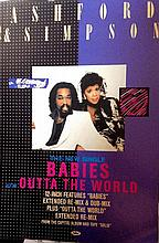 ASHFORD & SIMPSON ORIGINAL POSTER FOR BABIES OUTTA THE WORLD