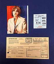 SMALL FACES STEVE MARRIOTT NATIONAL INSURANCE CARD