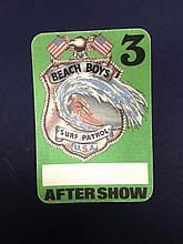 BEACH BOYS TOUR PASS