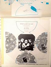 BLUEZONE LISA STANSFIELD THINKING ABOUT HIS BABY ORIGINAL ARTWORK