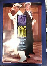BARRY MANILOW KID CREOLE PROOF POSTER FOR HEY MAMBO