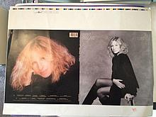 BARBRA STREISAND ORIGINAL PROOF ARTWORK FOR TILL I LOVED YOU ALBUM
