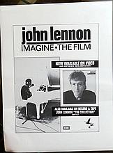Beatles John Lennon Proof for Imagine The Film