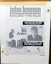 Beatles John Lennon Original Production Artwork Imagine Film