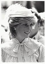 A small collection of Royal photographs showing the Prince and Princess of Wales on the Royal Yacht Britannia Royal tour of Canada 1983