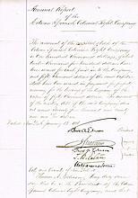 Edison, Thomas: Autographed document, signed