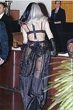 Gaga, Lady Personally worn sheer panel skirt