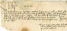 Henry VII autographed document, signed