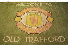 Manchester United memorabilia: Old Trafford tunnel carpet