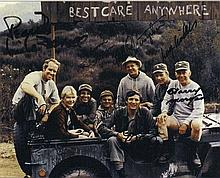 MASH cast: Autographed photograph, signed