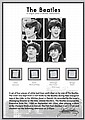 BEATLES, THE pieces of slept-on bed linen
