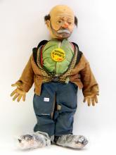 Baby Barry Brand Emmett Kelly Hobo Tramp Doll