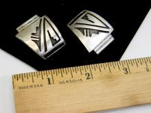 Vintage 14.5g Sterling Silver Navajo Watch Tips