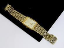 Goldtone Seiko Quartz Mens Dress Watch