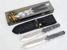 Rite Target Throwing Knives In Sheath Combo  Set