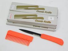 Lot of 6 Hidden Knife Combs