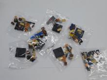 Elephant Lego Style Walking Dead Figurine Lot