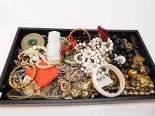 Large Lot Of Vintage And Modern Costume Jewelry.