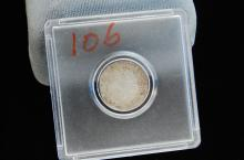 1782 Mexico Spanish 2 Reales Silver Coin