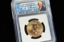 2007 John Adams Uncirculated US Dollar Coin