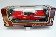 1/18 Road Legends 1957 Chevy Fire Chief Model Car