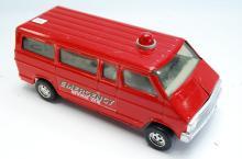 Vintage Ertl Emergency Rescue Van Tin Toy