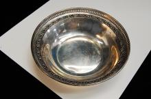 Vintage 77g Sterling Silver Perforated Bowl