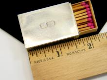 16g Sterling Silver Gorham Matchbox Cover