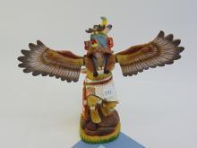 Carved Wood Dancing Kachina Figurine