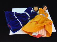 Handcrafted Native American Doll Lot Of 2