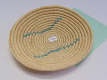 Native American Woven Flat Basket