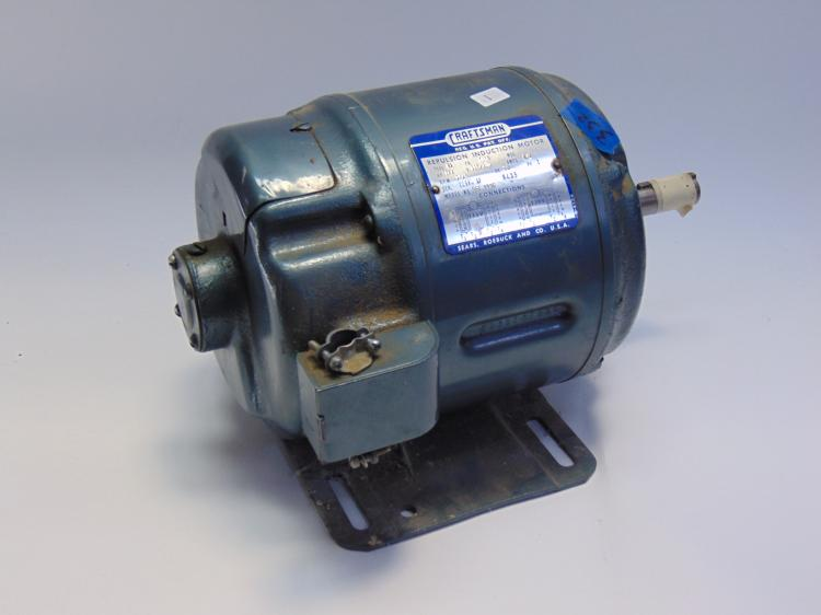 Craftsman repulsion induction electric 1 2 hp moto by for 1 2 hp induction motor