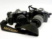 Used Minolta 3000i & 5000i 35mm Camera Lot Of 2