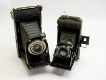 Old Kodak Bimat & AGFA PD16 Readyset Camera Lot