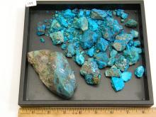 Natural Untreated Chrysacolla Specimen Rock Lot