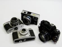 Bell & Howell Autoload 342/ Agfa Pronto Camera Lot
