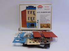 Vintage Model Power HO Scale Ace Hardware Model Train Building