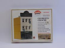 Vintage Model Power HO Scale George's Grocery Model Train Building