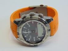 Authentic Tissot T-Touch Digital and Analog Wrist Watch