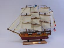 Wooden USS Constitution 1797 Ship for Display