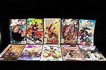 Lot Of 10 Xmen Marvel Comics 90s & 2000s