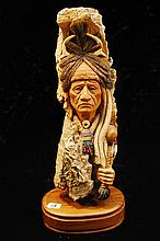 Native American Ceramic Crow Medicine #3008