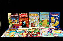 Lot Of 10 Simpsons Comics 2000s.