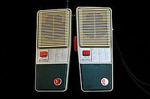 General Electric Morris Code Transceiver Made 1967