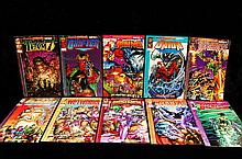 10 Wild Storm Rising Comics set of 10 1995
