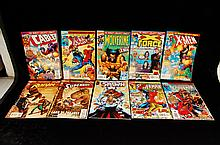 Comic Lot Of 10