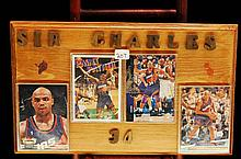 4 Charles Barkley phoniex Sun's basketball cards