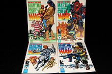 4 Marth Goes To War Comics 90's