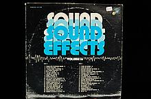 Lot Of Vintage Sound Effect record albums