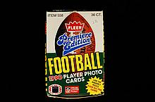 1990 Full Box Premiere Edition Football Cards